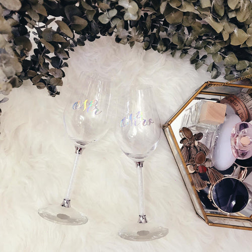 Customised Wine Glass