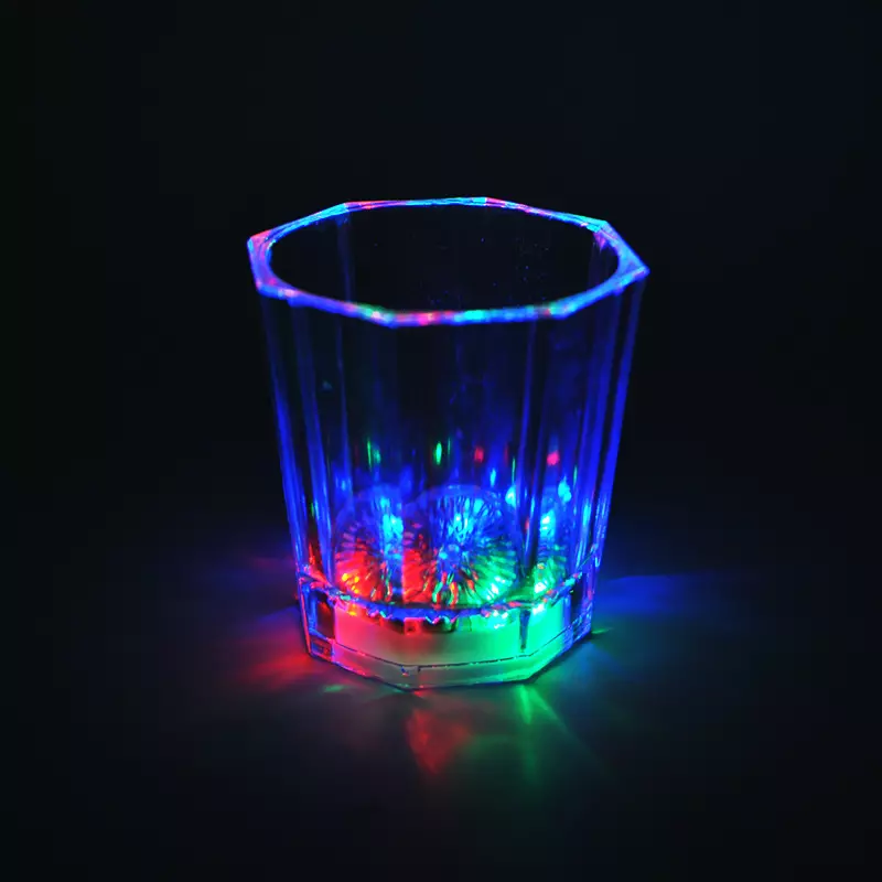 Glowing Party Cups Glow Shot Cups LED Glow Shots