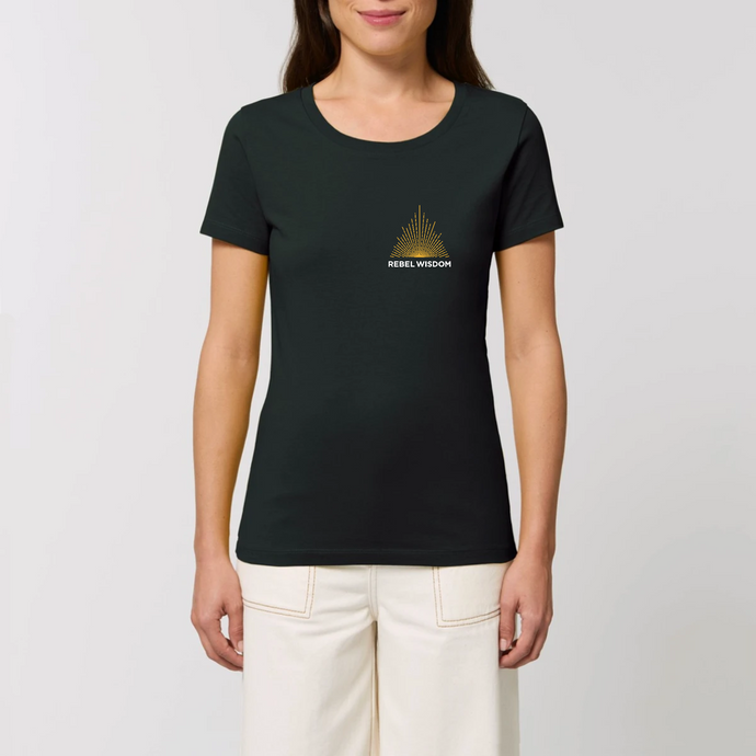 Women's Fit Logo Tshirt - Black