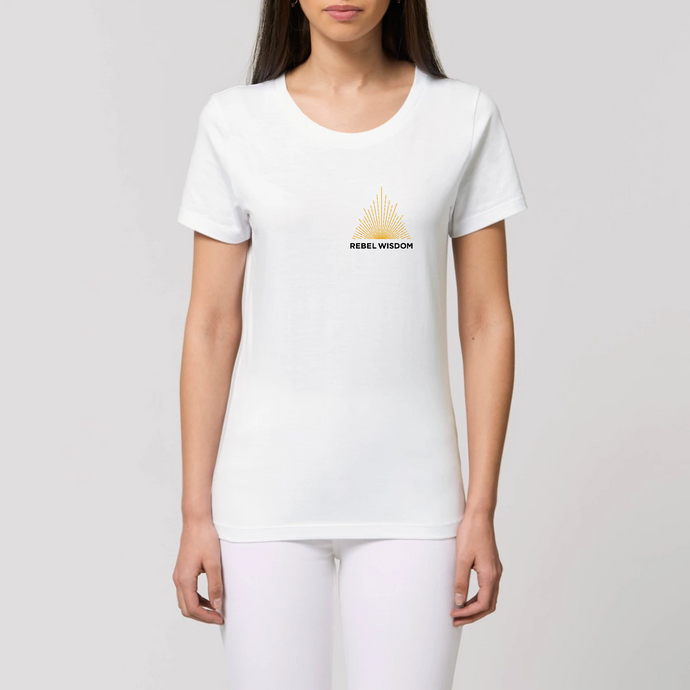 Women's Fit Logo Tshirt on White