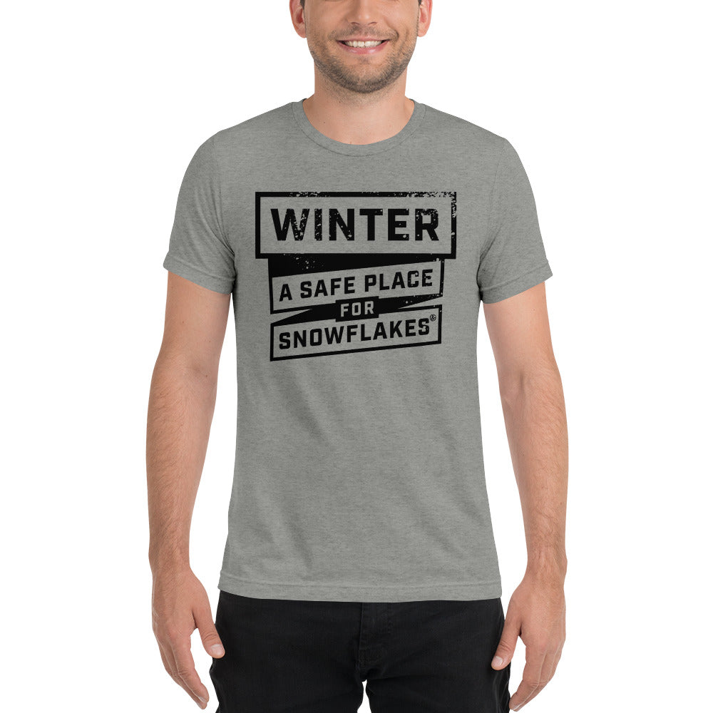 Winter, A Safe Place for Snowflakes- Tee