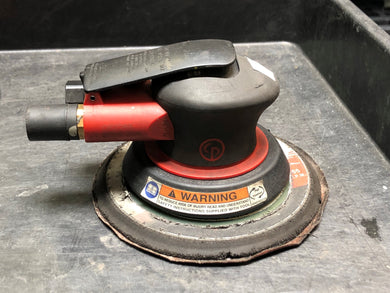 Chicago Pneumatic Random Orbital Sander-3/16 Orbit-6-Inch Pad Part #: CP7255
