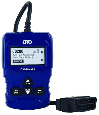 OBD II and ABS Scan Tool Part #: OTC-3208