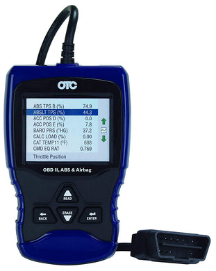 OBD II, ABS, and Airbag Scan Tool Part #: OTC-3209