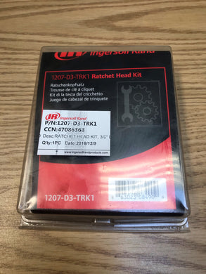 Ratchet Head Kit Part #: 1207-D3-TRK1