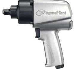 "Heavy Duty Impact Wrench Part #: IR-236  Drive: 1/2""  Max Torque Forward/Reverse: 200-450 ft-lbs  RPM: 7400  dBA: 90.3"