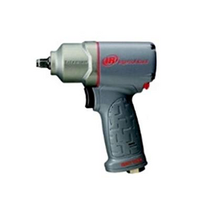 "Ultra Duty Quiet Titanium Impact Wrench Part #: IR-2115QTIMAX   Drive: 3/8""  Max Torque Forward/Reverse: 230-300 ft-lbs  RPM: 15,000  dBA: 89.7"