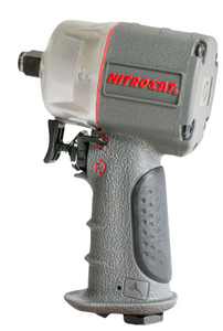 "Compact & Lightweight Composite Impact Wrench Part #: ACA-1076 XL Drive: 3/8"" RPM: 9000 dBA: 85"