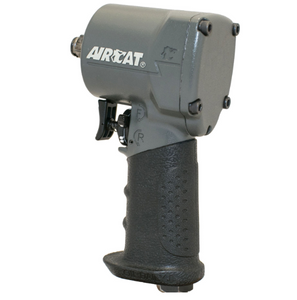 "Super Compact Impact Wrench, 3.85"" Long Part #: ACA-1077 TH  Drive: 3/8""  Loosening Torque: 650 ft-lbs  Max Torque Forward/Reverse: 500 ft-lbs  RPM: 9000  dBA: 89"