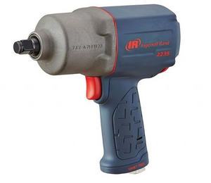 "Quiet Titanium MAX Impactool with Extended Anvil Part #: IR-2235QTIMAX2  Drive: 1/2""  Loosening Torque: 1300 ft-lbs  Max Torque Forward/Reverse: 870-900 ft-lbs  RPM: 8500  dBA: 88.7"