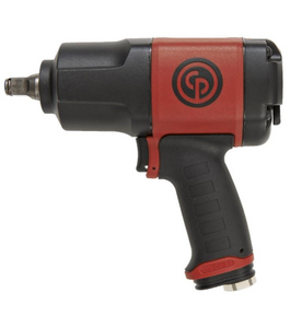 "Heavy Duty Composite Impact Wrench Part #: CP-7748  Drive: 1/2""  Max Torque Forward/Reverse: 580-920 ft-lbs  RPM: 8200  dBA: 104"