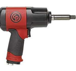 "Torque Limited Impact Wrench with Extended Anvil Part #: CP-7748 TL 2  Drive: 1/2""  Extended Anvil: 2""  Max Torque Forward/Reverse: 66-70/922 ft-lbs  RPM: 8200  dBA: 86"