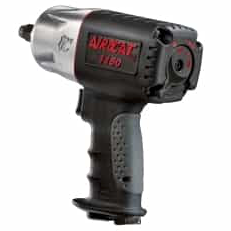 "Killer Torque Composite Impact Wrench Part #: ACA-1150  Drive: 1/2""  Loosening Torque: 1295 ft-lbs  Max Torque Forward/Reverse: 200-950 ft-lbs  RPM: 8000  dBA: 86"