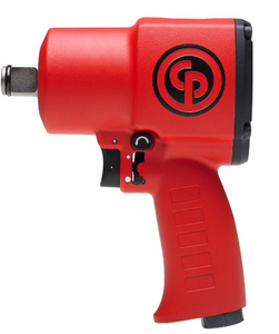 "Stubby Lightweight Impact Wrench, 6.2"" Long Part #: CP-7762  Drive: 3/4""  Max Torque Forward/Reverse: 670-1050 ft-lbs  RPM: 4850  dBA: 95"