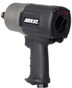 "Super Duty Impact Wrench with 3 Power Settings Part #: ACA-1770 XL  Drive: 3/4""  Max Torque Forward/Reverse: 1400 ft-lbs  RPM: 6500"