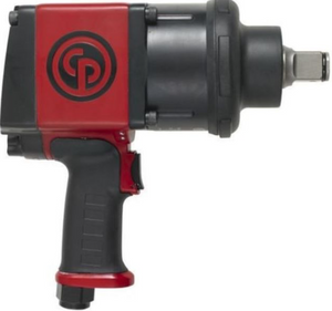 "High Torque & Comfort Impact Wrench Part #: CP-7776  Drive: 1""  Max Torque Forward/Reverse: 1528-1770 ft-lbs  RPM: 5000  dBA: 193"