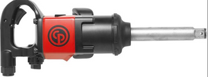 "Lightweight Impact Wrench Part #: CP-7783 6  Drive: 1""  Extended Anvil: 6""  Max Torque Forward/Reverse: 1253-1770 ft-lbs  RPM: 6200  dBA: 102"
