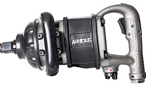 "Heavy Duty Impact Wrench Part #: ACA-1900 A 1  Drive: 1""  Loosening Torque: 2300 ft-lbs  Max Torque Forward/Reverse: 1900-1900 ft-lbs  RPM: 5500  dBA: 103.4"