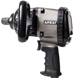 "Pistol Impact Wrench Part #: ACA-1880 P A  Drive: 1""  Loosening Torque: 1900 ft-lbs  Max Torque Forward/Reverse: 1700 ft-lbs  RPM: 4800  dBA: 88"