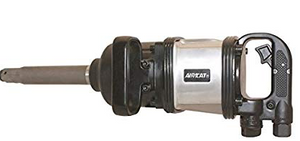 "Heavy Duty Impact Wrench Part #: ACA-1994  Drive: 1""  Extended Anvil: 8""  Loosening Torque: 2300 ft-lbs  Max Torque Forward/Reverse: 2300 ft-lbs  RPM: 4500  dBA: 109"