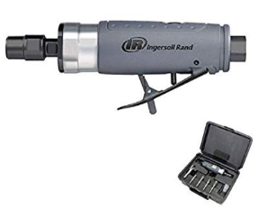 Composite Straight Die Grinder Kit Part #: IR-308BK Power: 1/3 HP Free Speed: 25,000 RPM