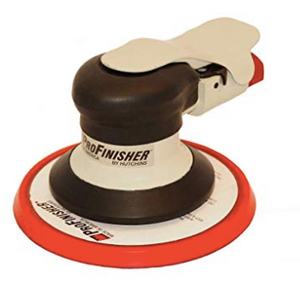 "ProFinisher material removal Part #: HUT-600 H  Pad: 6"" Velcro  Orbit: 3/16""  RPM: 10,000"