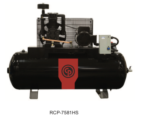 Chicago Pneumatic Air Compressor Model #: RCP-7581HS