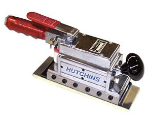 "Mini Straight Line Sander Part #: HUT-2023  For primary material removal  Pad size: 2-3/4"" x 8"""