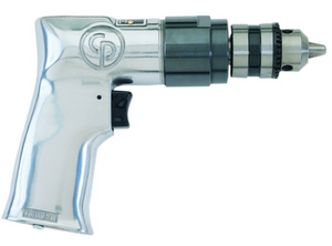 "General Duty Air Drill Part #: CP-785  Chuck: 3/8""  Free Speed: 2400 RPM  Length: 7""  Weight: 2.30 lbs  dBA: 90"