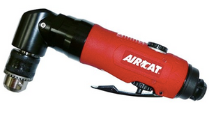 "Reversible Composite Air Drills Part #: ACA-4337  Chuck: 3/8"" Keyed  Motor: 0.75 HP  Free Speed: 1600 RPM  dBA: 75"