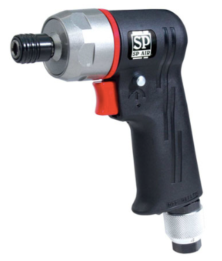 Reversible Lightweight Impact Driver with Double Hammer Clutch Part #: SPA-SP 7825HU  Chuck: 1/4