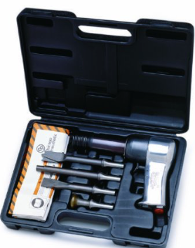 Extra Heavy Duty Air Hammer Kit 4 chisels Part #: CP-717K  Shank: .498  BPM: 1800  dBA: 95