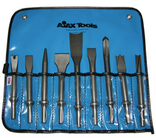 9 Piece General Purpose Chisel Set Part #: AJX-A9029