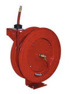 "Heavy Duty Retractable Air Hose Reel Part #: ATD-31167  1/2"" x 50' Hose  35 CFM  1/2"" NPT male and female"