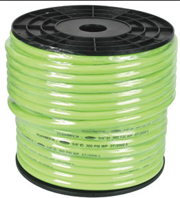 "Flexzilla Bulk Air/Water Hose Part #: LEG-HFZ34250YW Hose Size x Length: 3/4"" x 250' Working Pressure: 200 PSI"