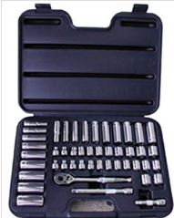 "47 Pc. 3/8"" Dr. Socket Set SAE & Metric"
