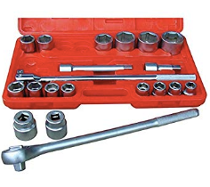 "21 Pc. 3/4"" Dr. SAE Socket Set Part #: ATD-10021"