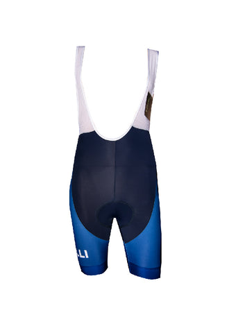 Blue Race Bibshorts