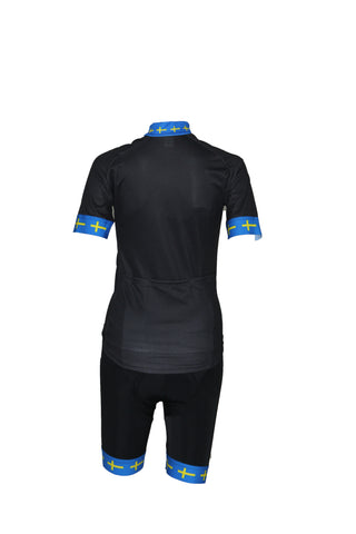 Swe Black Bibshorts
