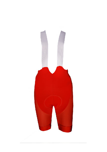 Red Bibshorts