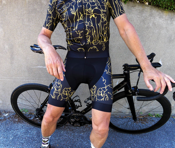 Art Gold Bibshorts