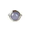 Blue Chalcedony Cabochon Ring - Tocci Designs