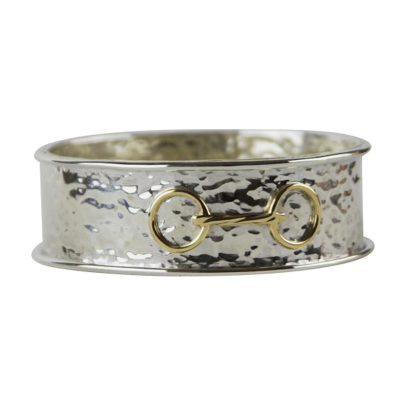 Hammered Bit Bangle - Tocci Designs