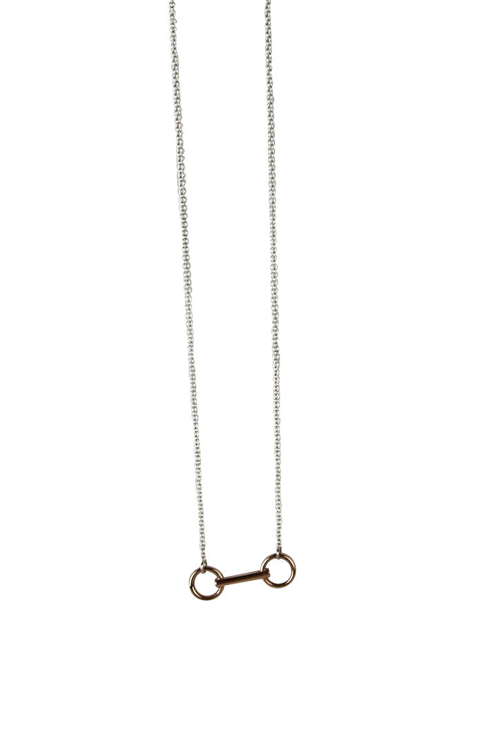 Snaffle Bit Necklace - Tocci Designs