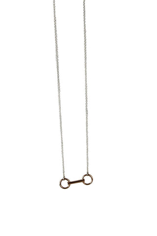 Loose Ring Necklace