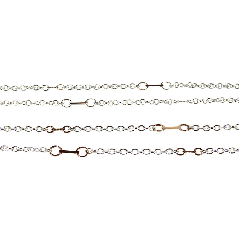 Snaffle Chain Necklace - Tocci Designs