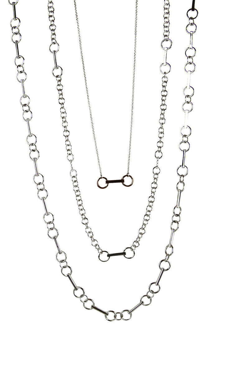 Interchangeable Bit Necklace or Lariat 14K Gold - Tocci Designs