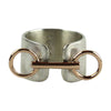 Large Horse Bit Cuff Ring - Tocci Designs