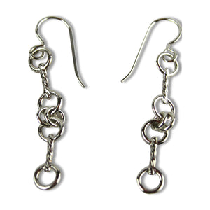 Double Snaffle Bit Earrings - Tocci Designs