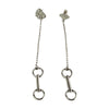Medium Snaffle Dangle Earrings - Tocci Designs